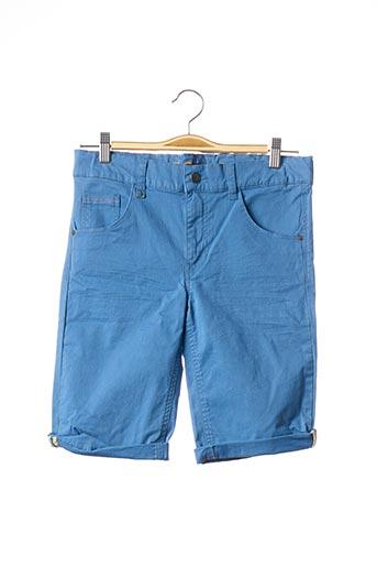 Bermuda bleu BECKARO pour garçon