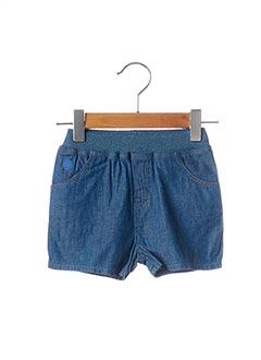 Short bleu BOBLI pour garçon