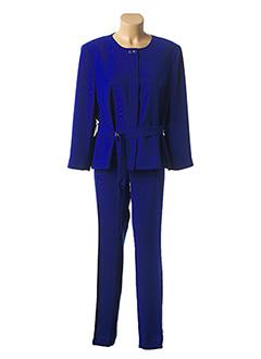 Veste/pantalon bleu EXALTATION pour femme