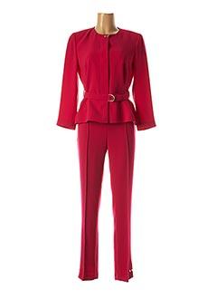 Veste/pantalon rose EXALTATION pour femme