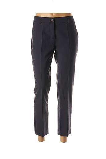 Pantalon 7/8 bleu POUSSIERE D'ETOLE pour femme