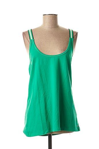 Débardeur vert GARCIA pour femme