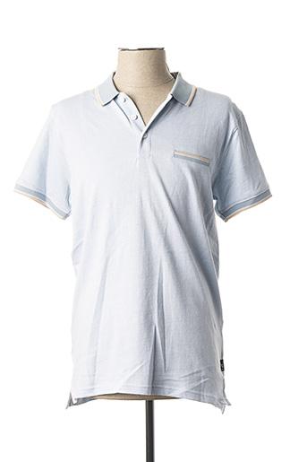Polo manches courtes bleu TIFFOSI pour homme