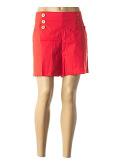 Short rouge COMPAÑIA FANTASTICA pour femme