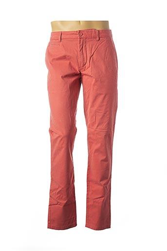 Pantalon casual orange OXBOW pour homme