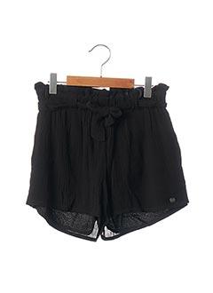 Short noir BECKARO pour fille