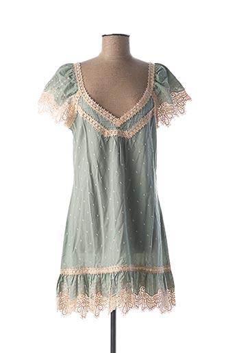 Chemise de nuit vert MARJOLAINE pour femme