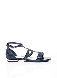 Sandales/Nu pieds bleu ELUE PAR NOUS pour femme