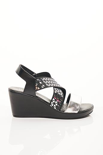 Sandales/Nu pieds noir INEA pour femme