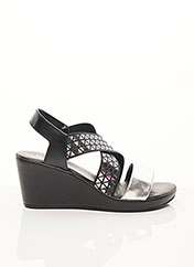 Sandales/Nu pieds noir INEA pour femme seconde vue