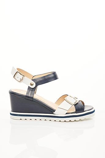 Sandales/Nu pieds bleu REBELLE pour femme