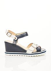 Sandales/Nu pieds bleu REBELLE pour femme seconde vue
