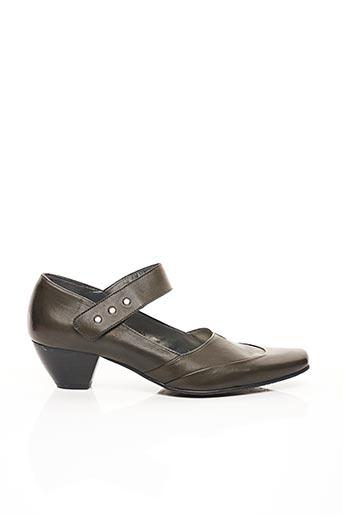 Escarpins gris FIDJI pour femme