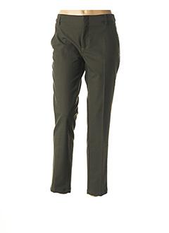 Pantalon chic vert REIKO pour femme