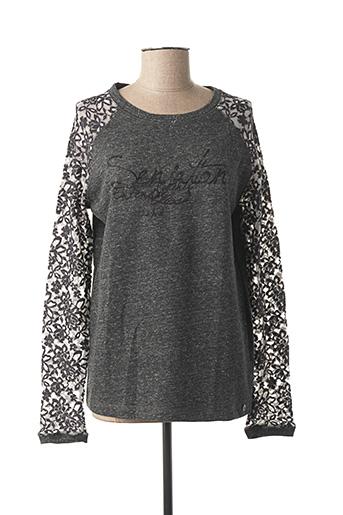 Sweat-shirt gris MAE MAHE pour femme