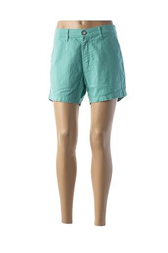 Short vert CRN-F3 pour femme