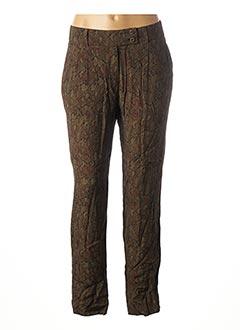 Pantalon chic vert 1 2 3 pour femme