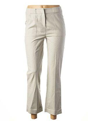 Pantalon 7/8 gris MAISON 123 pour femme