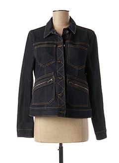 Veste en jean bleu 1 2 3 pour femme
