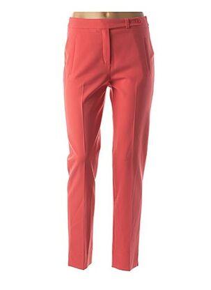 Pantalon 7/8 rose MAISON 123 pour femme