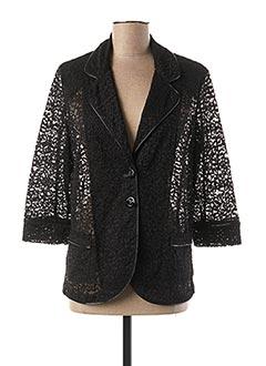 Veste chic / Blazer noir FUEGOLITA pour femme