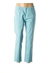 Pantalon casual bleu BRUNO SAINT HILAIRE pour homme seconde vue
