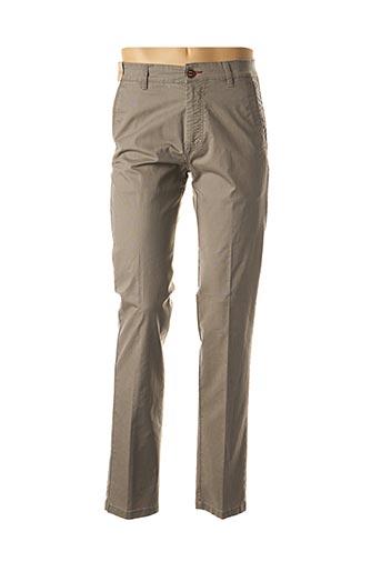 Pantalon casual gris BLUE SIDE pour femme