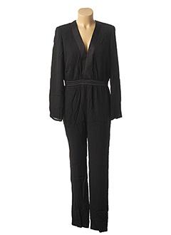 Combi-pantalon noir SCHOOL RAG pour femme