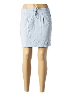 Jupe courte bleu ONLY pour femme