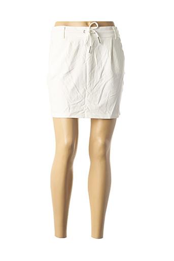 Jupe courte blanc ONLY pour femme