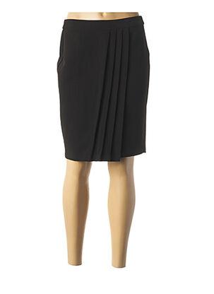 Jupe mi-longue noir I.CODE (By IKKS) pour femme