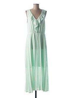 Robe longue vert ONLY pour femme