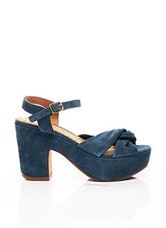 Sandales/Nu pieds bleu CHIE MIHARA pour femme