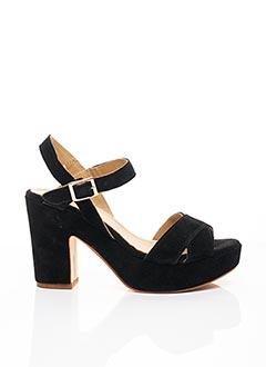 Sandales/Nu pieds noir FIORINA pour femme