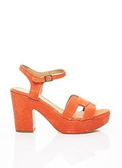 Sandales/Nu pieds orange FIORINA pour femme