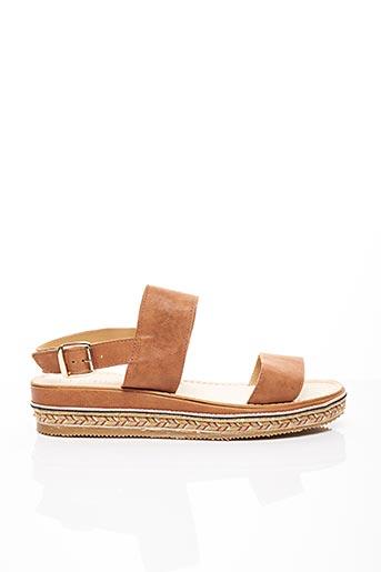 Sandales/Nu pieds marron FIORINA pour femme