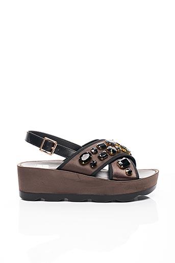 Sandales/Nu pieds vert BIBI LOU pour femme