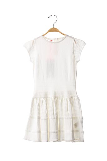 Robe pull blanc MARESE pour fille