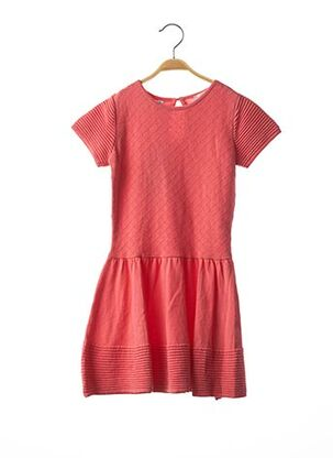 Robe pull rose MARESE pour fille