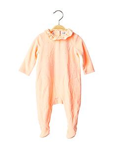Pyjama orange MARESE pour fille