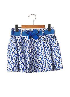 Jupe mi-longue bleu MARESE pour fille