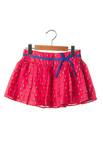 Jupe mi-longue rouge MARESE pour fille