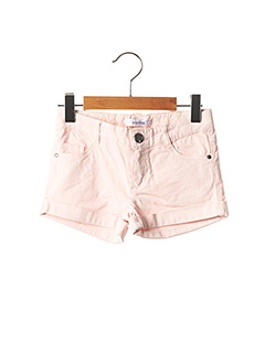 Short rose MARESE pour fille