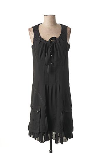 Robe mi-longue noir COLLECTION PRIVEE pour femme