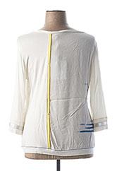 T-shirt manches longues blanc ELISA CAVALETTI pour femme seconde vue