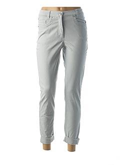 Pantalon casual gris FABER pour femme