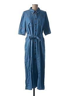 Robe longue bleu MARELLA pour femme