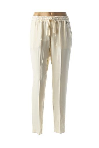 Pantalon casual blanc TWINSET pour femme