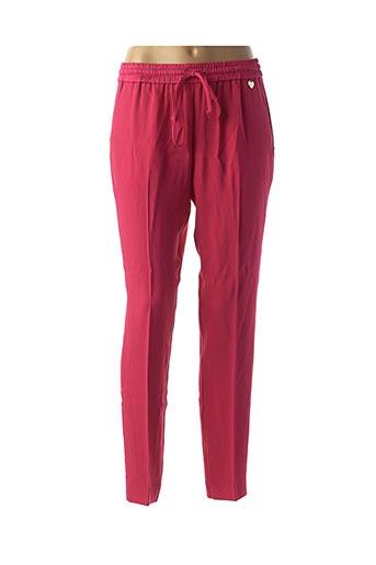 Pantalon casual rose TWINSET pour femme