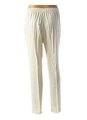 Pantalon casual blanc TWINSET pour femme seconde vue